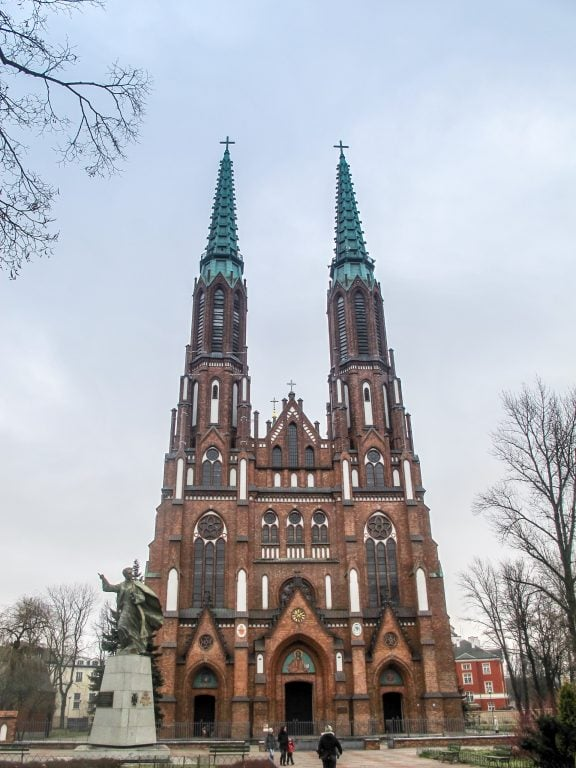 St. Michael and Florian Cathedral in Praga in Warsaw, Poland