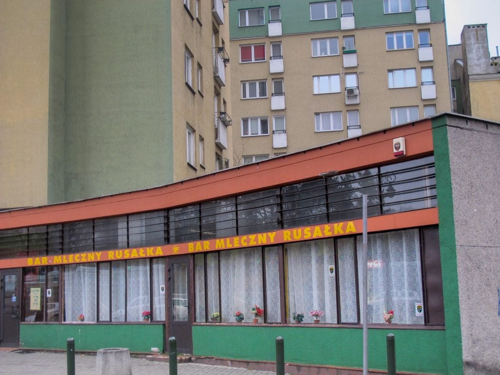 Milk Bar Rusalka in Praga, Warsaw, Poland
