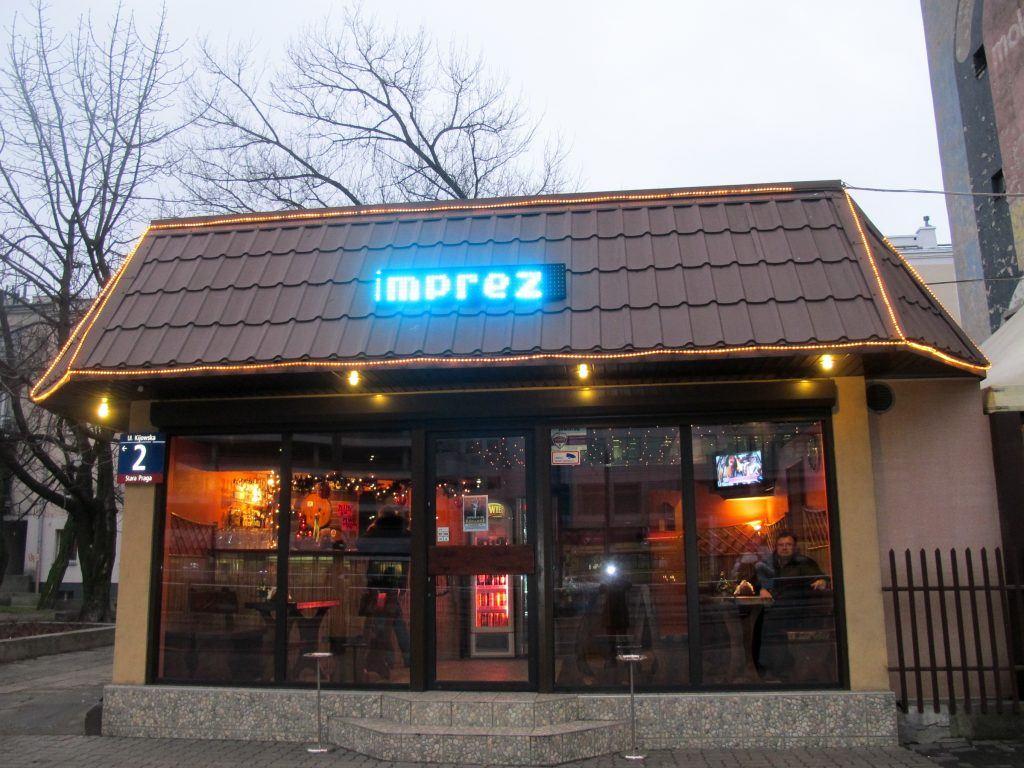 Bar Kijowska in Praga in Warsaw, Poland