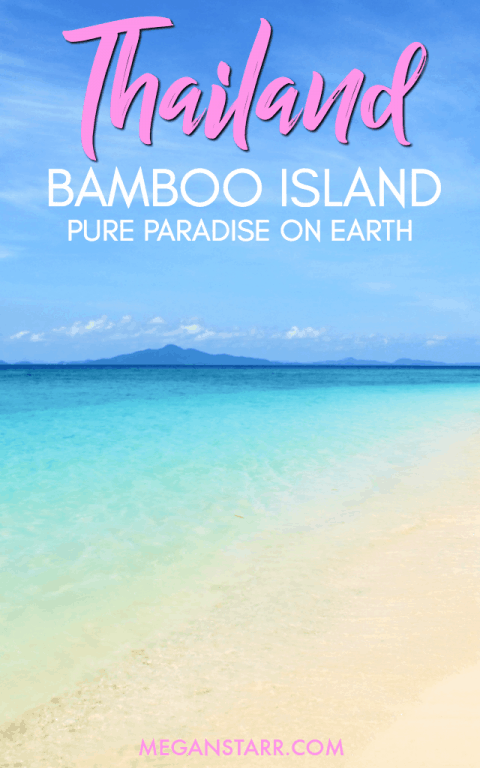 Bamboo Island is one of the most beautiful places in the Andaman Sea. Check out these photos and find out how you can visit there on your trip to Thailand!