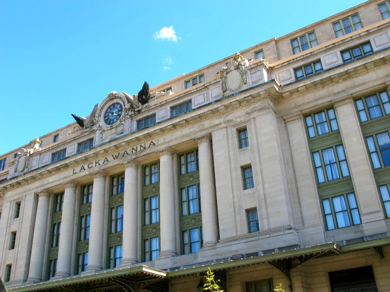 The beautiful architecture of Scranton, Pennsyvlania