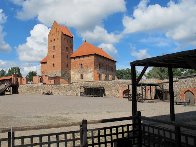 Trakai Castle outside of Vilnius, Lithuania