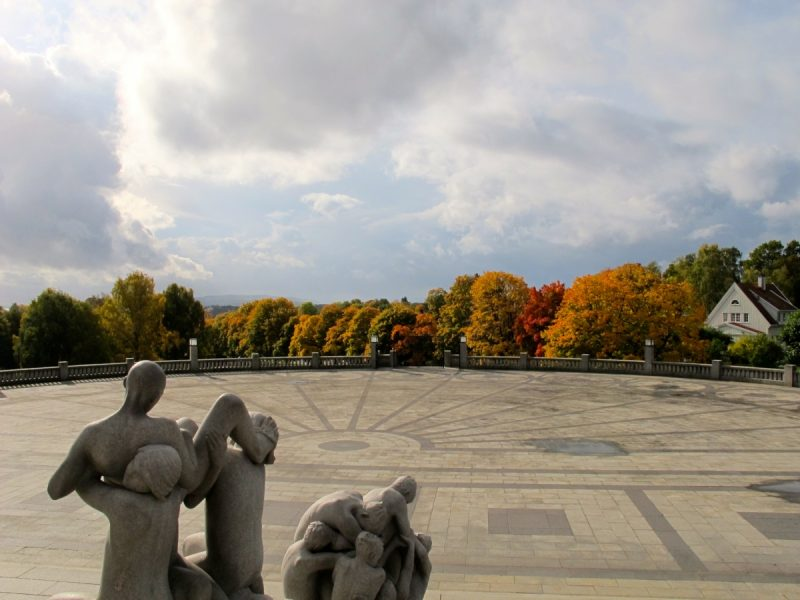 Vigelandsparken in Oslo, Norway