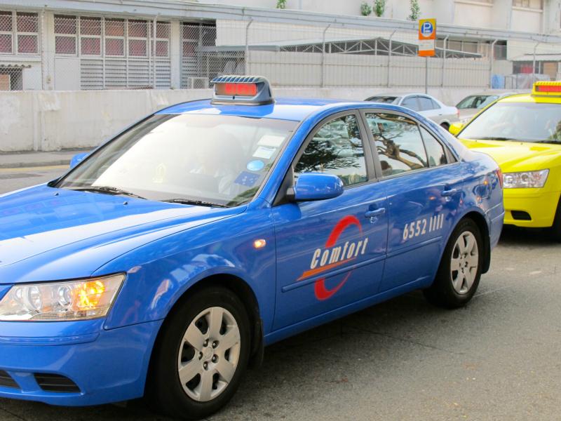 Comfort Cab in Singapore