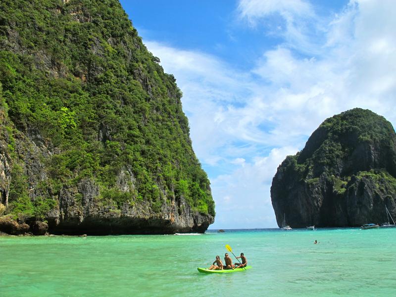 Sexy beaches of Phi Phi Leh