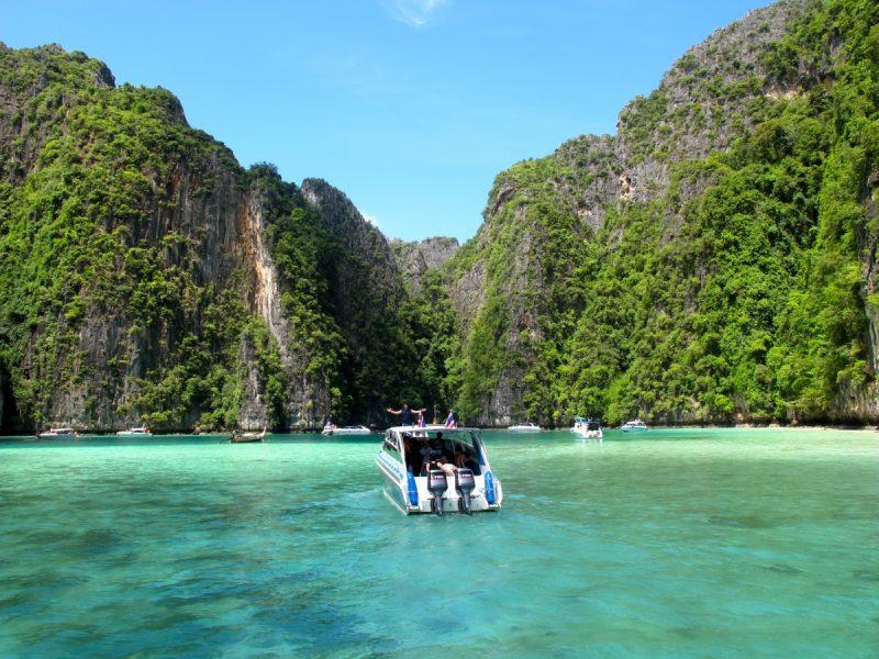 Lohsamah Bay off the coast of Thailand
