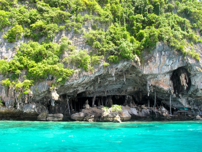 Viking Cave in the Andaman Sea