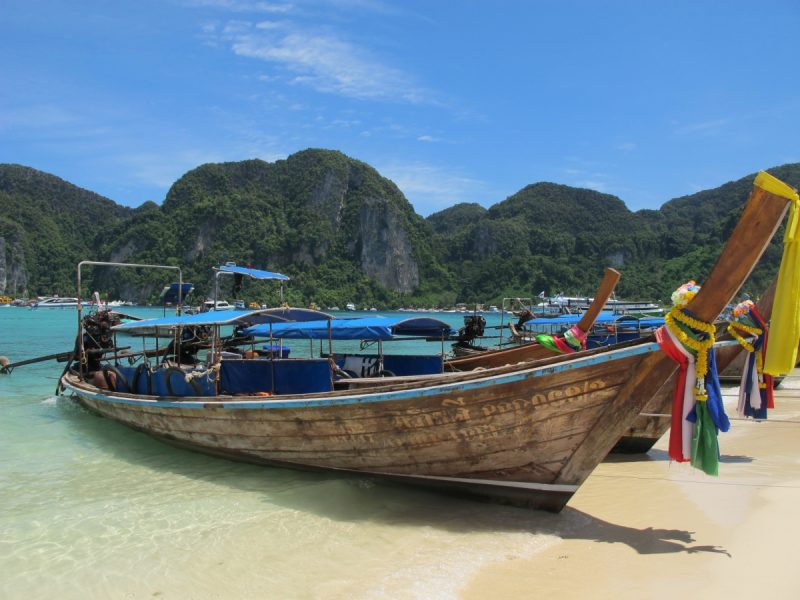 Phi Phi Don off the coast of Thailand