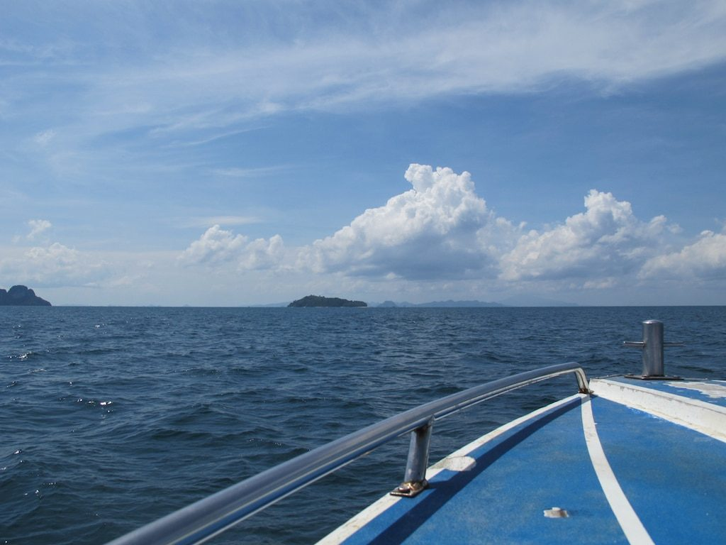 Speedboat in Andaman Sea, Thailand