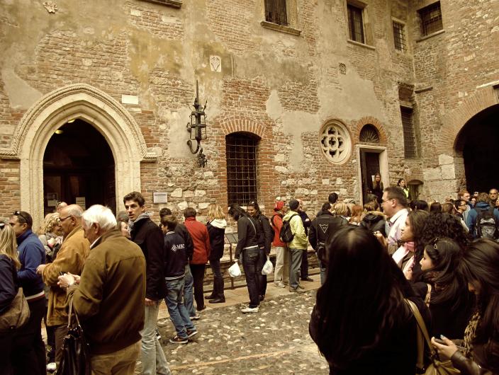 Casa di Giulietta in Verona, Italy