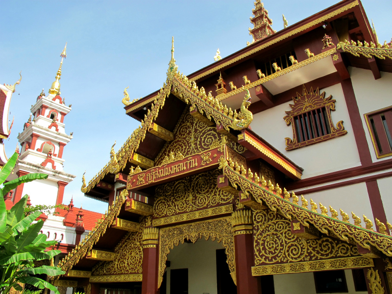 Temples everywhere in Chiang Mai