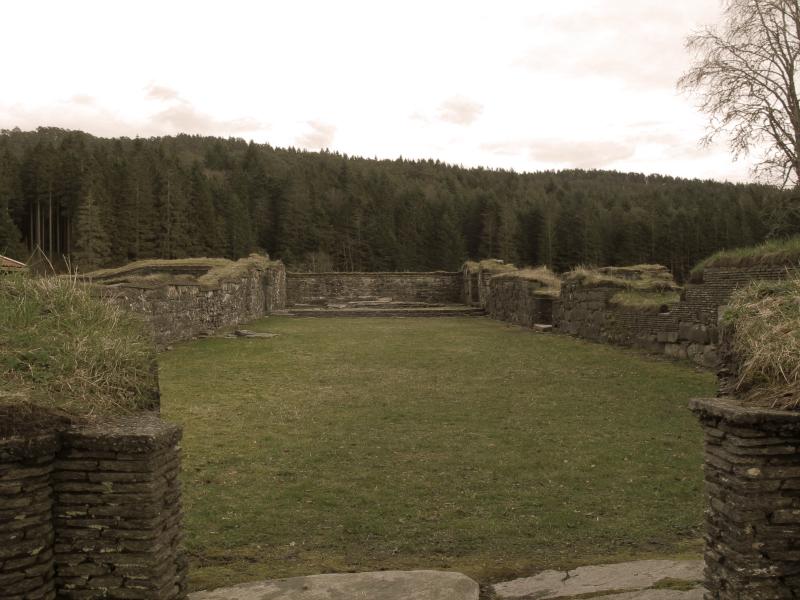 Lysekloster near Bergen, Norway