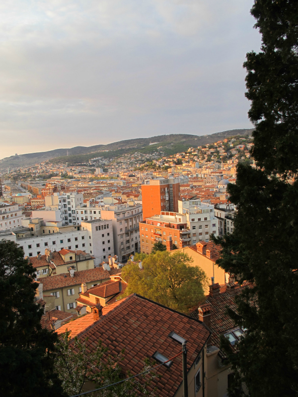 View over Trieste, Italy