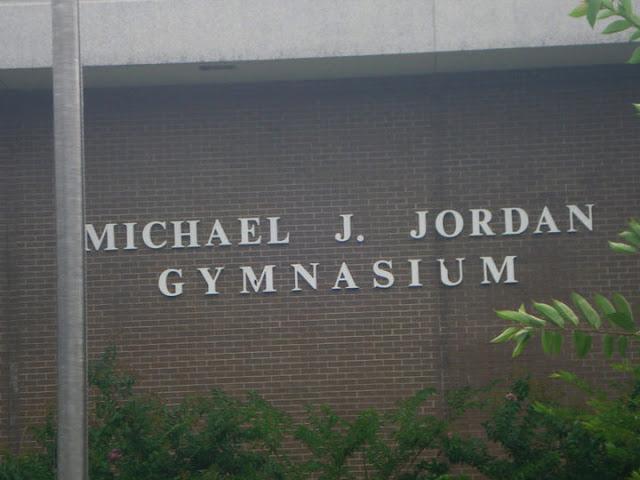 Michael Jordan gym in Wilmington, NC
