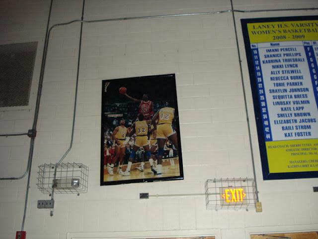 Inside the Michael Jordan gym in Wilmington, NC
