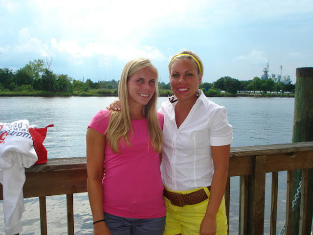 My sister and I in Wilmington