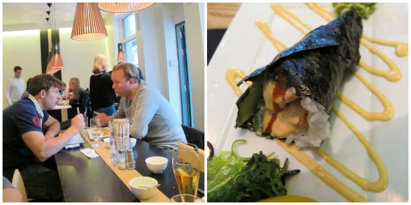 Horrible sushi in Gothenburg, Sweden