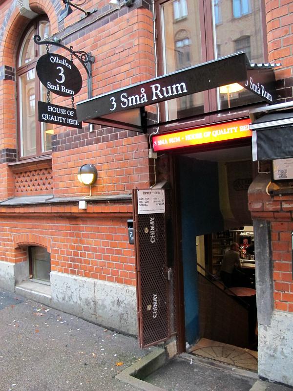 3 Små Rum in Gothenburg, Sweden