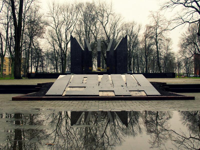 World War 2 Monument in Daugavpils, Latvia
