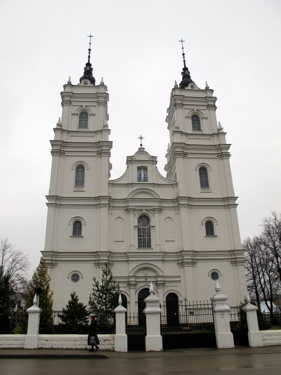 Roman Catholic Church of the Blessed Virgin Mary in Daugavpils, Latvia