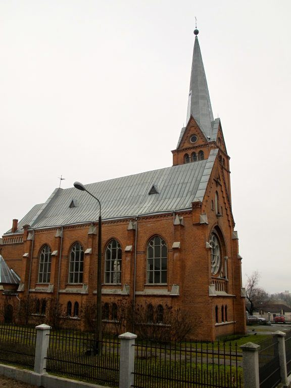 Martin Luther Cathedral in Daugavpils, Latvia
