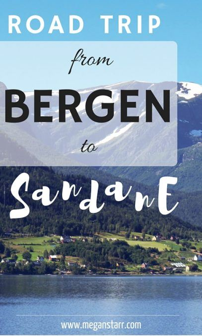 I recently had the chance to head north of Bergen nearly four hours to the small town of Sandane, Norway. The road trip up that way left me speechless.