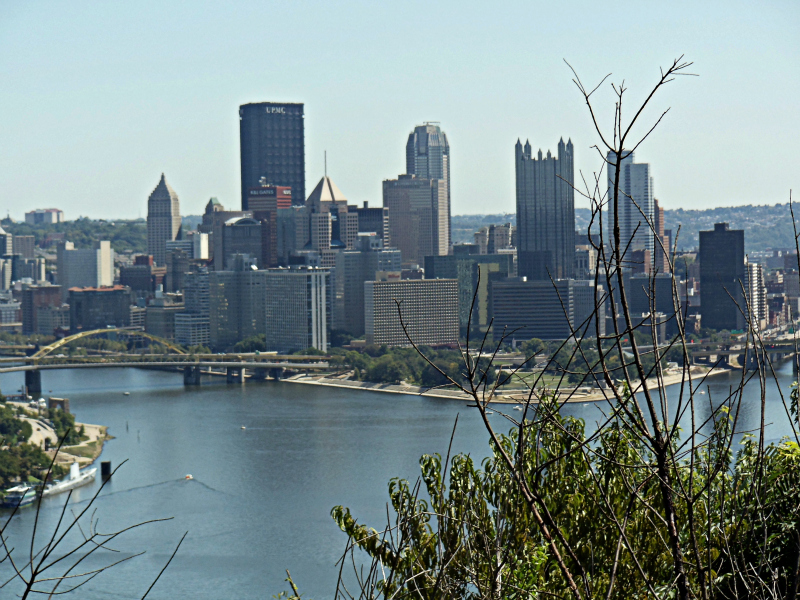 Pittsburgh, Pennsylvania skyline during the day