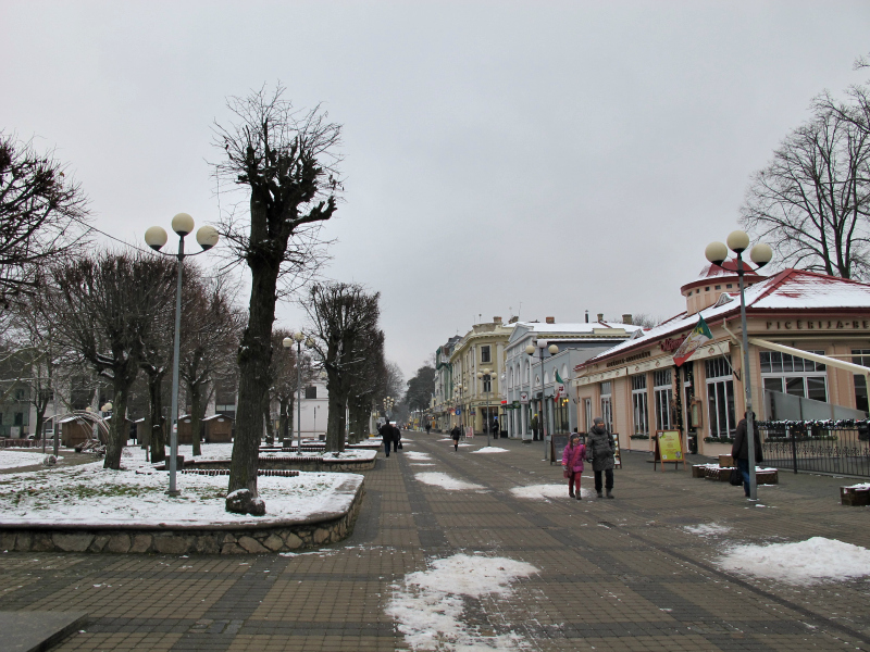 Jurmala, Latvia in winter