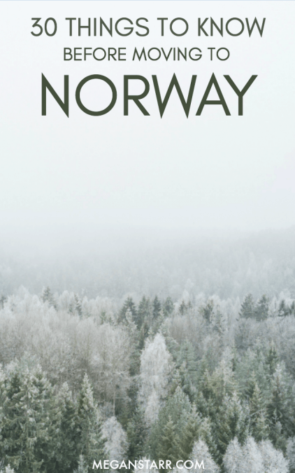 Norway is a complicated, beautiful, and a sought after country these days. This post describes thirty things you should know before moving to Norway.