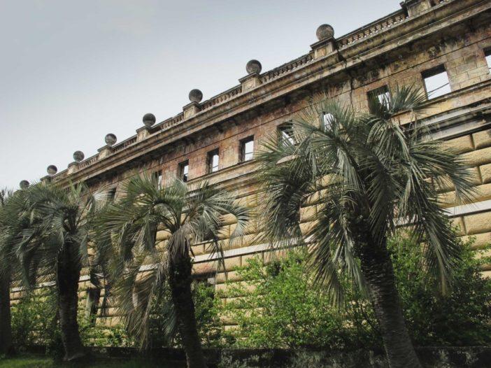 Sukhumi, Abkhazia parliament building