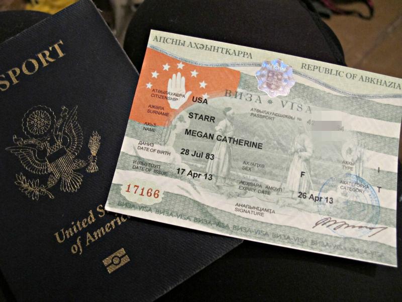 Visa to Abkhazia