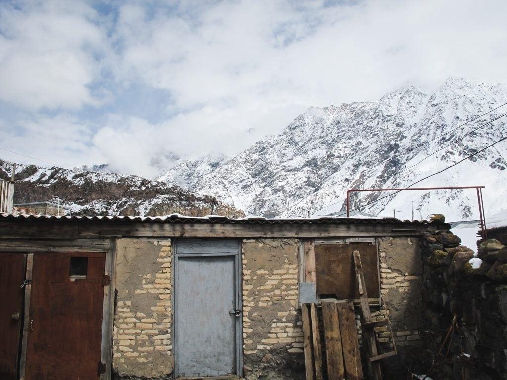 Kazbegi or Stepantsminda, Georgia
