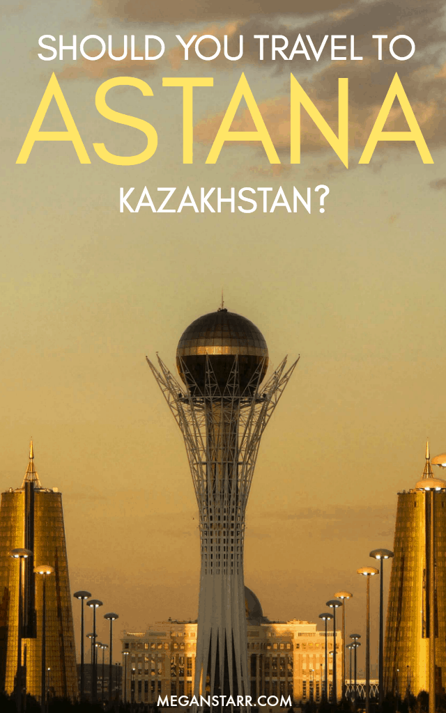 Astana, Kazakhstan is for its futuristic buildings but remote location and this post answers the question of whether or not you should travel to Astana.