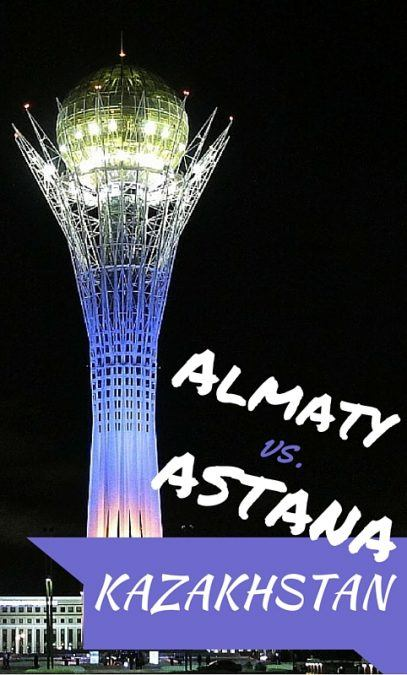 Almaty or Astana, Kazakhstan? I have an opinion on it and while I'm not one to compare two places, I couldn't help but do so with these two Central Asian cities.