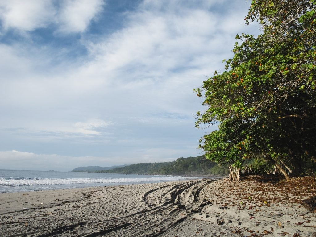 Beach in Montezuma, Costa Rica