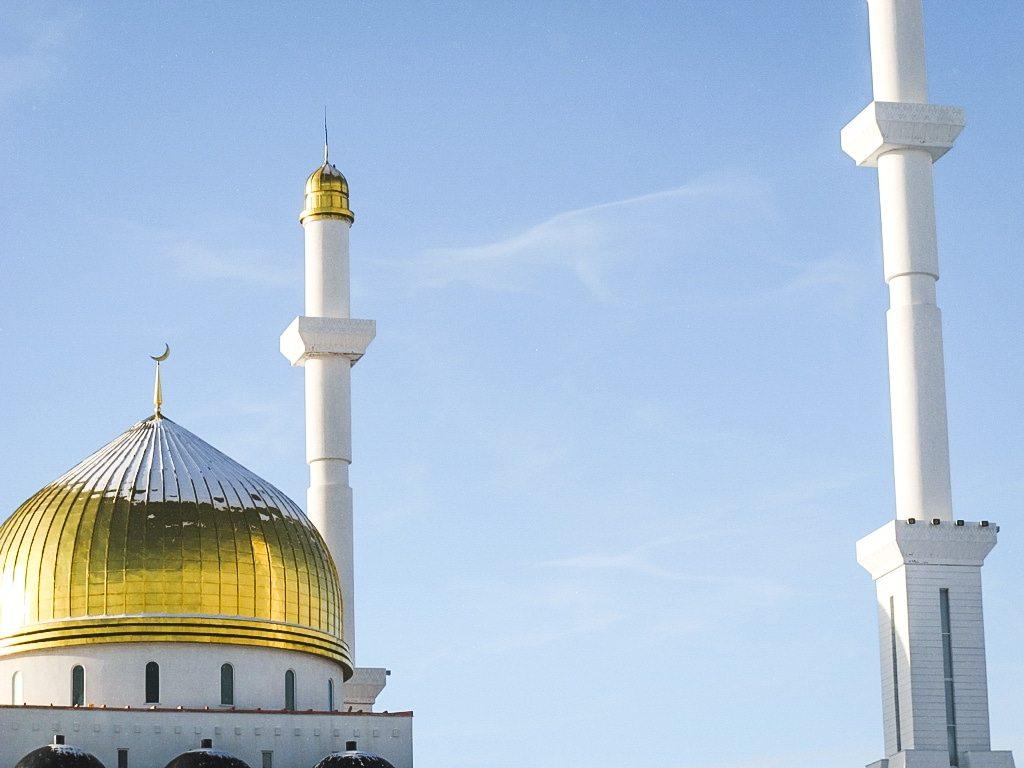 Nur-Astana Mosque in Astana, Kazakhstan