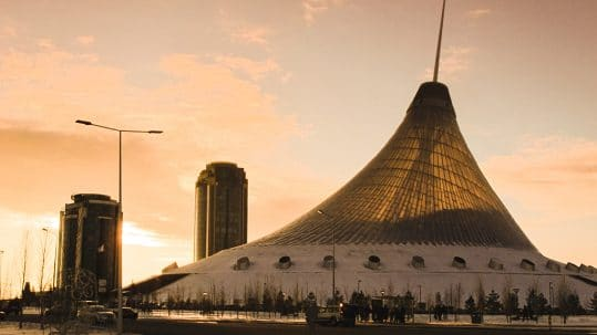 Should you travel to Astana, Kazakhstan? Khan Shatyr Entertainment Center and Mall
