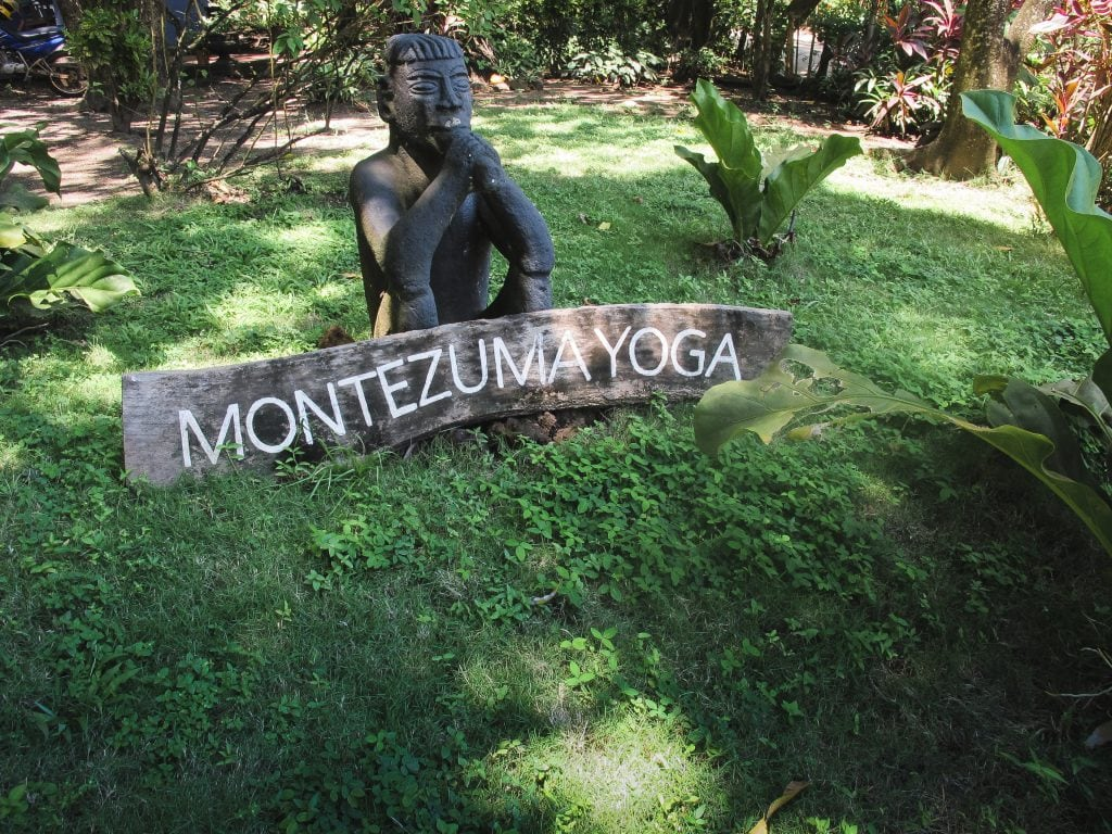 Montezuma yoga in Costa Rica