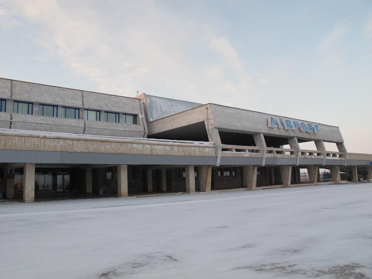 Karaganda, Kazakhstan: Doing Nothing in a Fascinating City airport