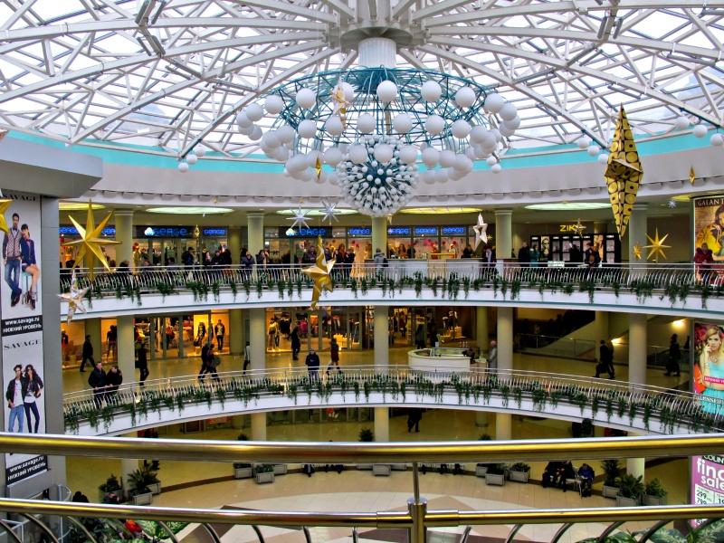 Stolitsa Shopping Center in Minsk