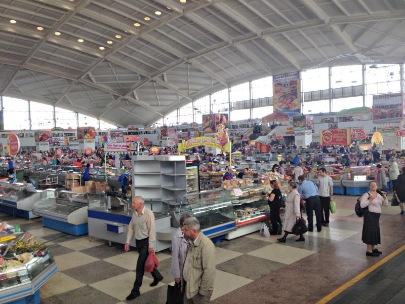 Komarovsky Market in Minsk