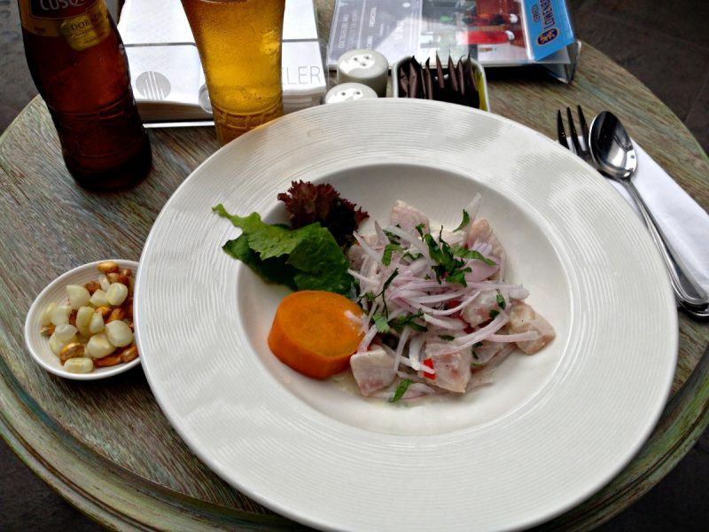 The best ceviche ever in Lima, Peru