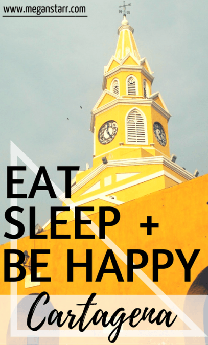 Cartagena is a short flight from the US and one well worth it. This is where I went to eat, sleep, and be happy in Cartagena, Colombia. Click to read more!
