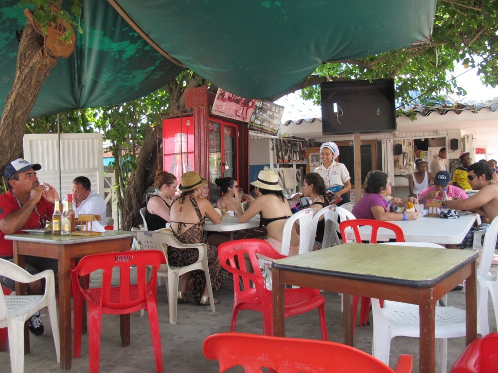 Dining in Cartagena, Colombia