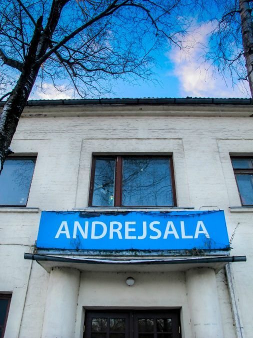 Andrejsala- Riga's up-and-coming and industrial neighborhood