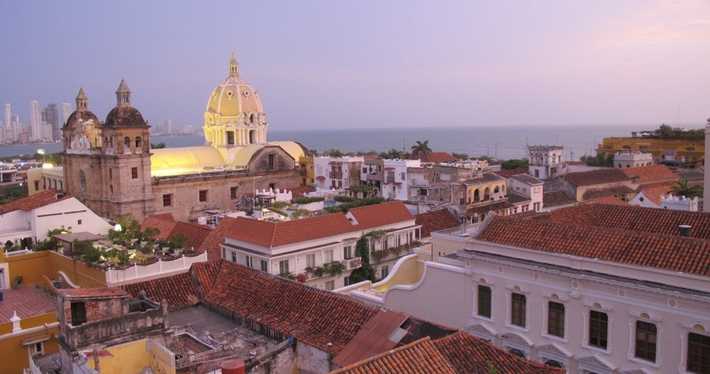 Cartagena is a short flight from the US and one well worth it.  This is where I went to eat, sleep, and be happy in Cartagena, Colombia.