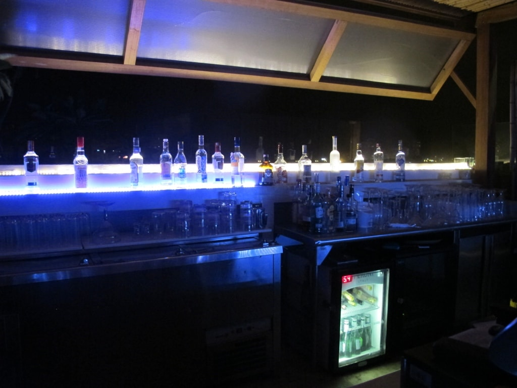 The bar atop Hotel Movich in Cartagena, Colombia