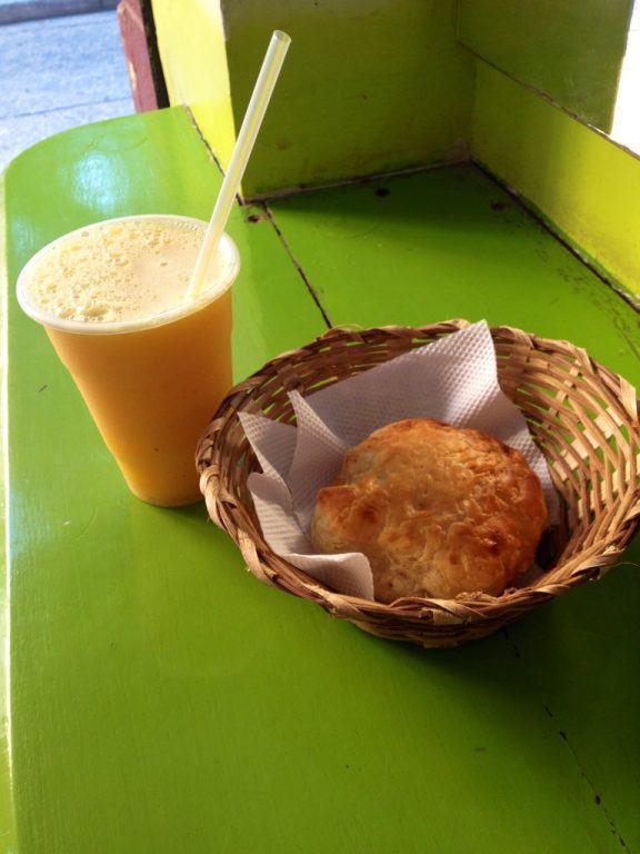 Breakfast in Cartagena, Colombia