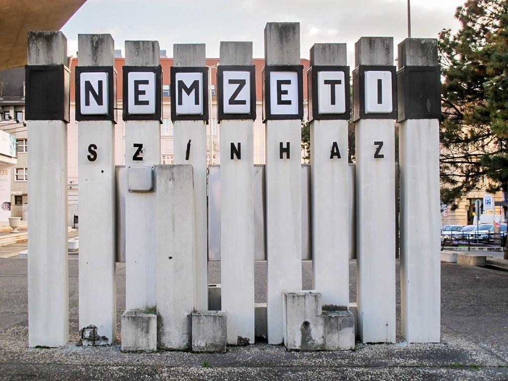 Győri Nemzeti Színház in Gyor, Hungary