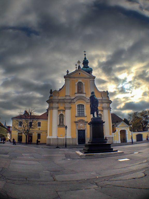 Carmelite Church in Gyor, Hungary